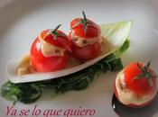 Barquitas Cherris rellenos Roquefort Dátiles