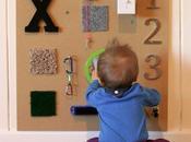 Pared sensorial para bebes