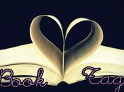 "Book-tag ""Letra libro"""