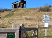 Monumento Penshaw, secreto escondido dieciocho columnas