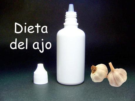 DIETA DEL AJO SIN DEJAR DE COMER