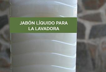C mo hacer jab n l quido para la lavadora en casa paperblog - Jabon natural para lavadora ...
