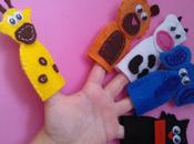 Marionetas para dedos fieltro
