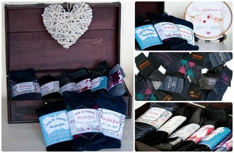 Calcetines de novio personalizados paperblog - Calcetines de navidad personalizados ...