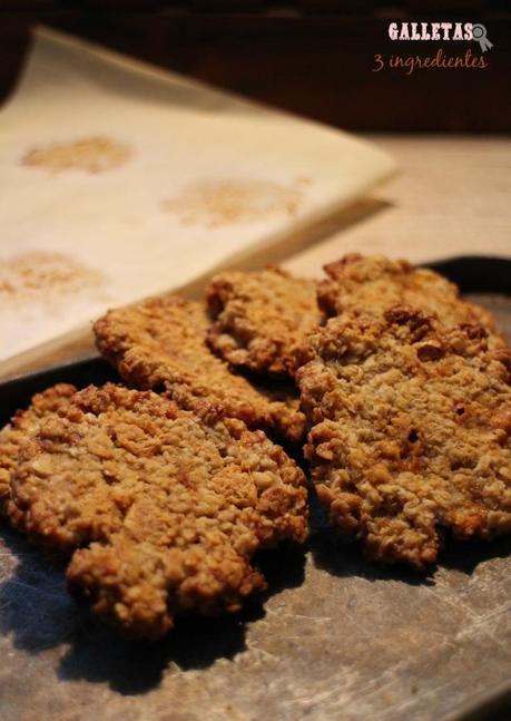 galletas 3 ingredientes de avena banofee