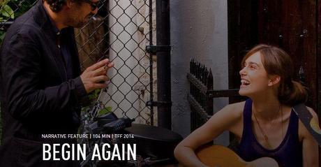 Tráiler de 'Begin Again', con Keira Knightley y Mark Ruffalo