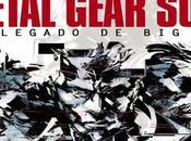 'Metal Gear Solid: Legado Boss', nuevo libro sobre saga