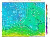Tiempo lluvioso oeste peninsular primera semana abril