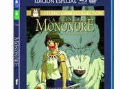 Princesa Mononoke' Blu-ray cuatro novedades más, mayo
