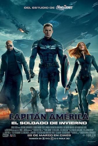 Póster: Capitán América: El soldado de invierno (2014)