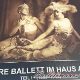 Balletomanos en Viena. Museo de la Ópera