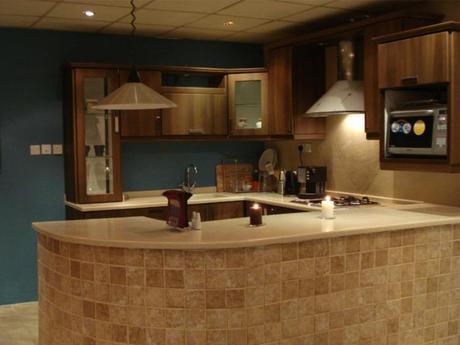 Cocinas peque as y modernas con barra paperblog - Barras de cocinas modernas ...
