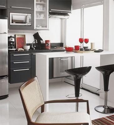 Cocinas peque as y modernas con barra paperblog - Fotos de cocinas pequenas y modernas ...