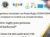 Convenio colaboración club rugby Ingenieros Industriales Rozas Fundación Down