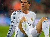 Cristiano Ronaldo retiró lesionado