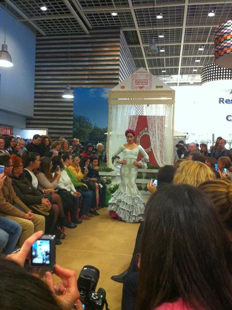 Ii certamen de moda flamenca en ikea sevilla paperblog - Ikea de sevilla ...