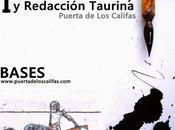 "concurso infantil dibujo redacción taurina ""puerta califas"""