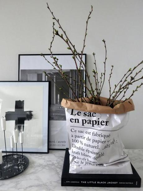 deco le sac en papier the paper bag paperblog. Black Bedroom Furniture Sets. Home Design Ideas