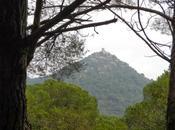 Castell Burriac desde Cabrils (Maresme)
