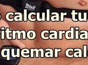Cómo calcular zona ritmo cardiaco para quemar calorías