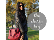 look: bolso color cereza