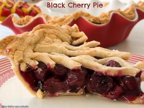 Black Cherry Pie. {U.S.A:Reto Food Bloggers Trotamundos}