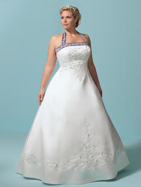 Fotos de vestidos de novia para gorditas paperblog for Taille plus mariage dresse