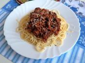 Spaghetti bolognesa (paso paso)