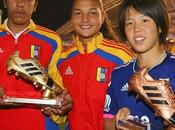 venezolanas Deyna Castellanos Gabriela García, bota Mundial Fútbol Femenino Sub-17