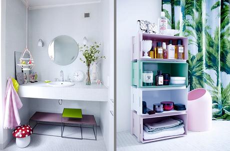 Consigue una decoraci n primaveral para el ba o con peque os detalles paperblog - Ikea complementos bano ...
