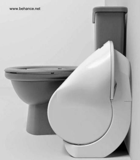 Inodoro Baño Pequeno:Inodoro de diseño innovador para baños pequeños – Paperblog