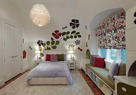 Hermosas habitaciones decoradas con diseo floral Paperblog