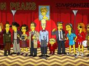 protagonsitas 'Twin Peaks' Simpsonizados