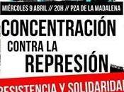 Contra represión: resistencia solidaridad