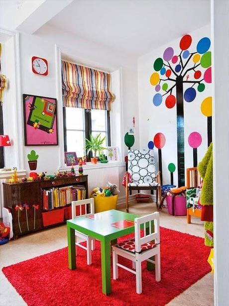 Habitaciones infantiles color y dise o paperblog for Diseno habitaciones infantiles