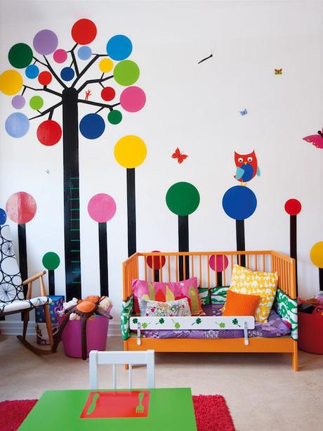 Habitaciones infantiles color y dise o paperblog for Decoracion jardin maternal