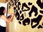 Lindas habitaciones decoración animal print