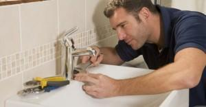 Reparando el baño