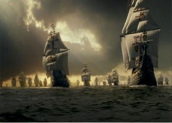 La Armada 'Invencible', primer avistamiento