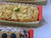 Cakes frutas