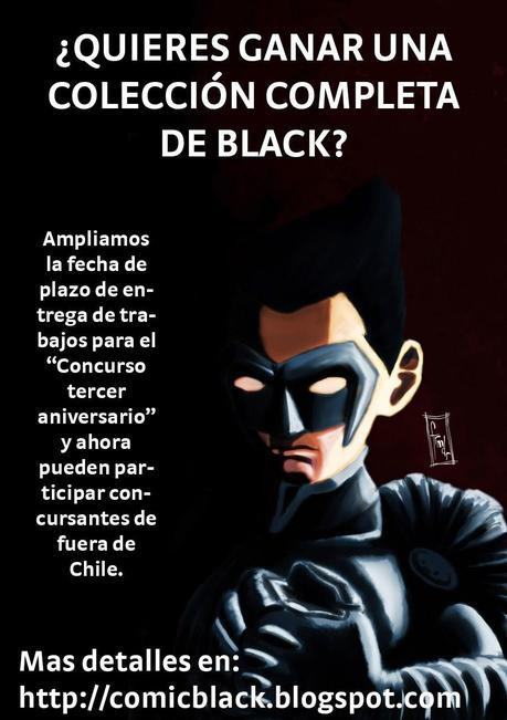 CONCURSO DE TERCER ANIVERSARIO DE BLACK EXTENDIDO Y ACTUALIZADO!!!!