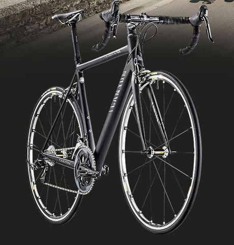 Una bicicleta de aluminio que puede compararse con los modelo de carbono.