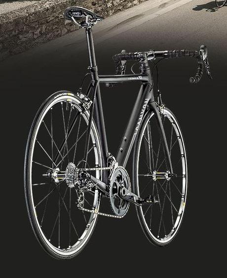 Bicicleta con una configuración de categoría Elite.