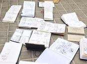 Drawing location: aprendiendo arte #UrbanSketching
