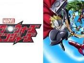 Opening clip anime Marvel Disk Wars: Avengers