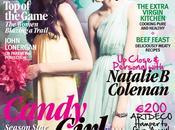 Pastel fashion editorial styled