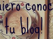 ¡Quiero conocer blog! suerte esté siempre, siempre vuestra parte.
