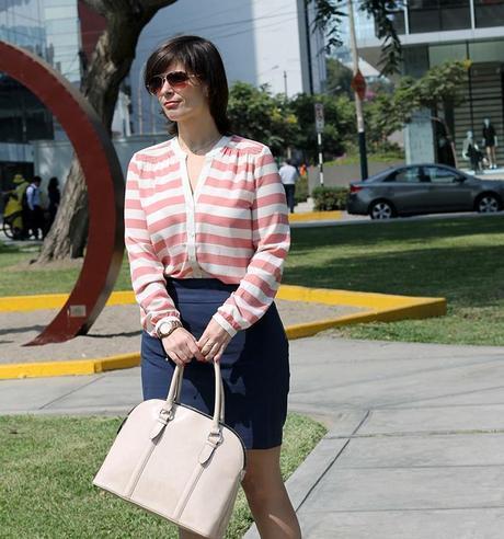 Mis Looks - De azul y rosado