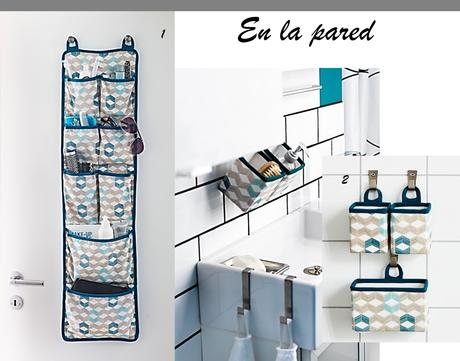 Ideas para organizar el cuarto de ba o paperblog - Cestas almacenaje ikea ...