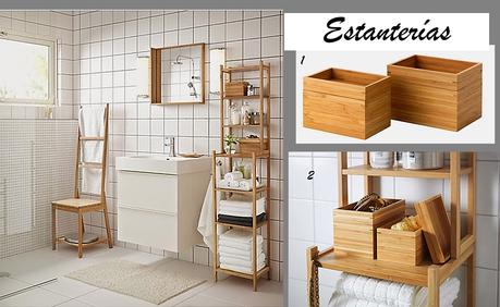 Ideas para organizar el cuarto de ba o paperblog - Ikea complementos bano ...